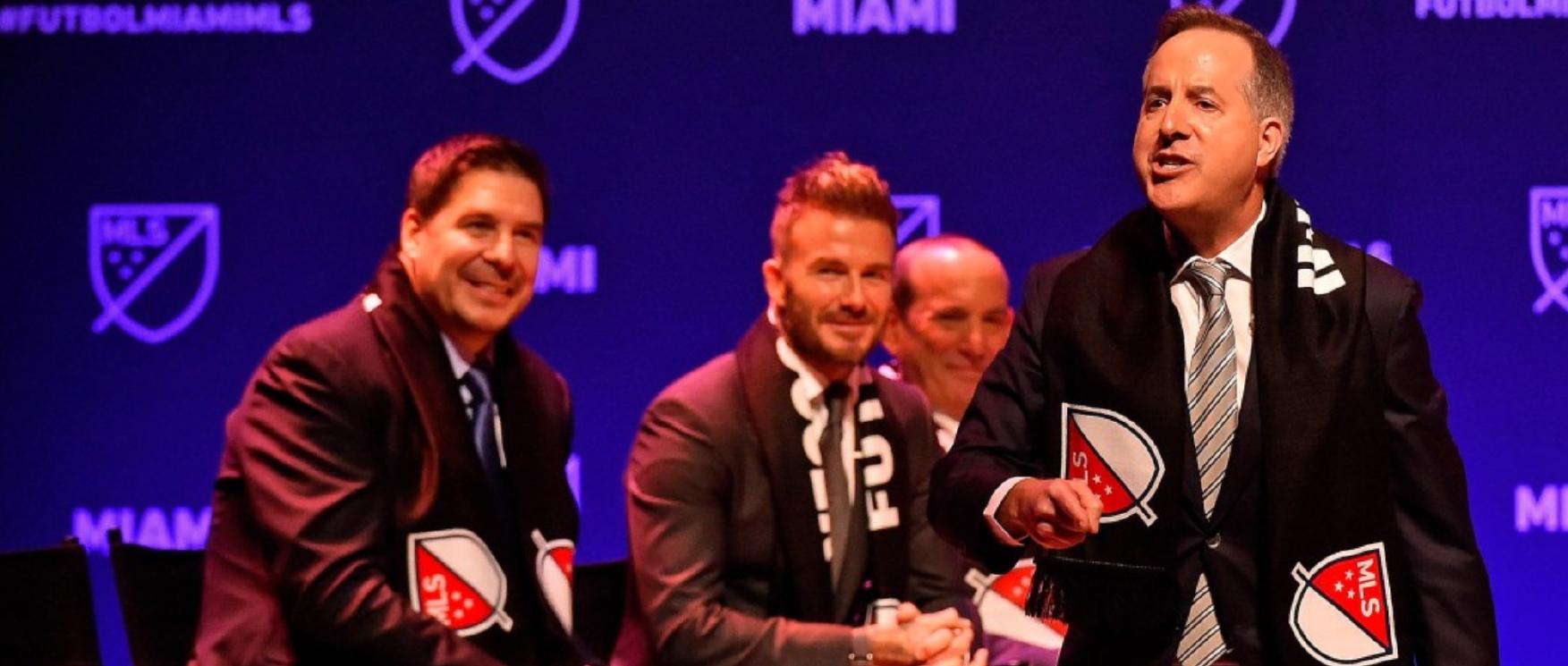 """El equipo de expansion de Miami de la MLS tendrá nombre """"muy pronto"""" según el co-fundador del Club"""