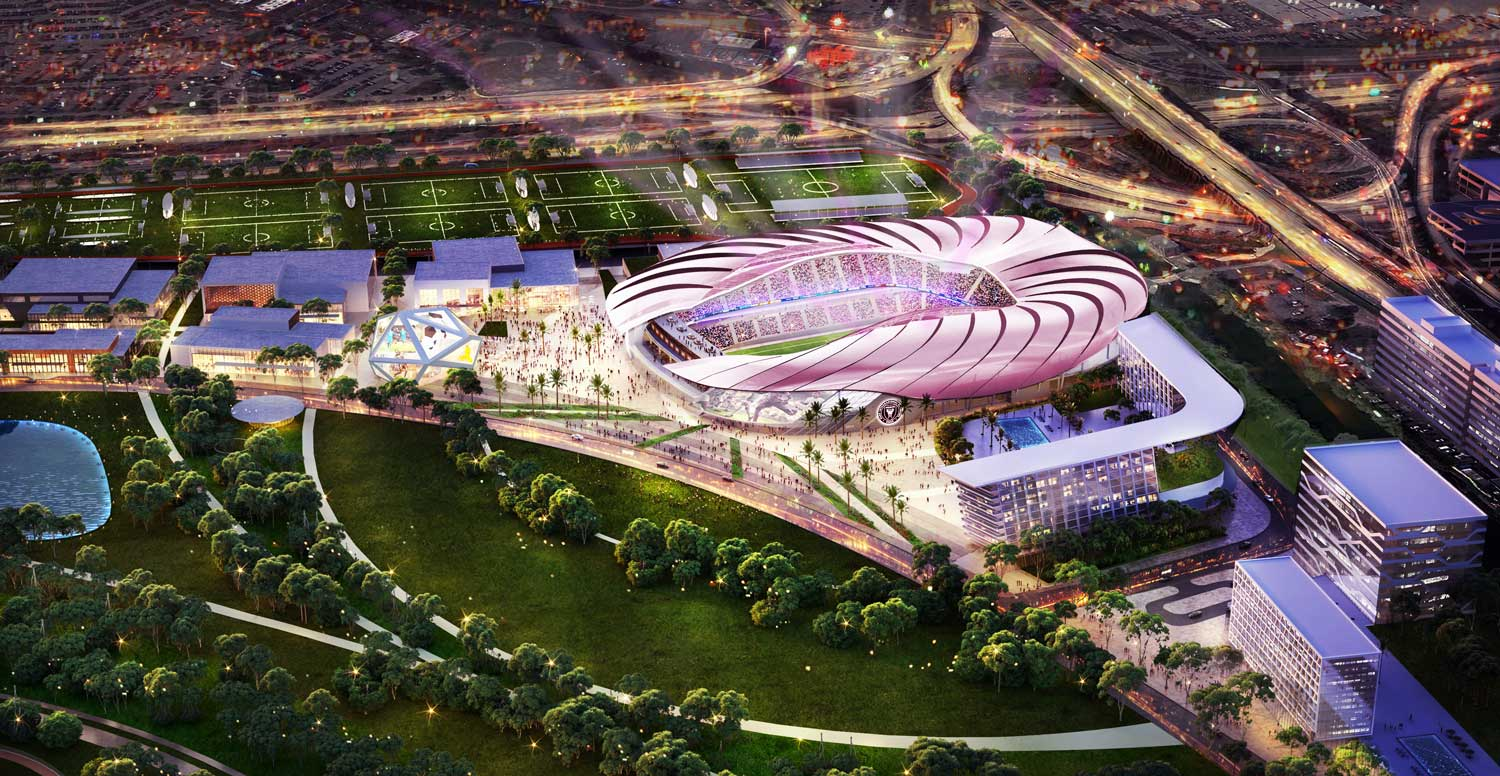Inter Miami CF Unveils Stadium Design Evolution with Website Launch
