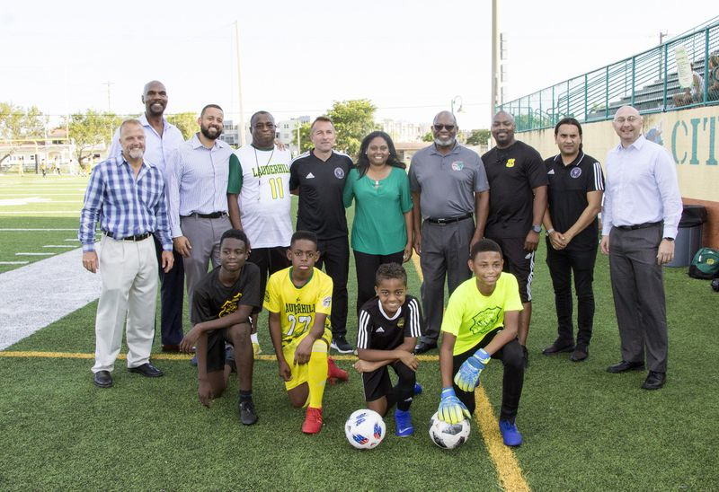 Lauderhill Lions youth players joining Development Academy Roster