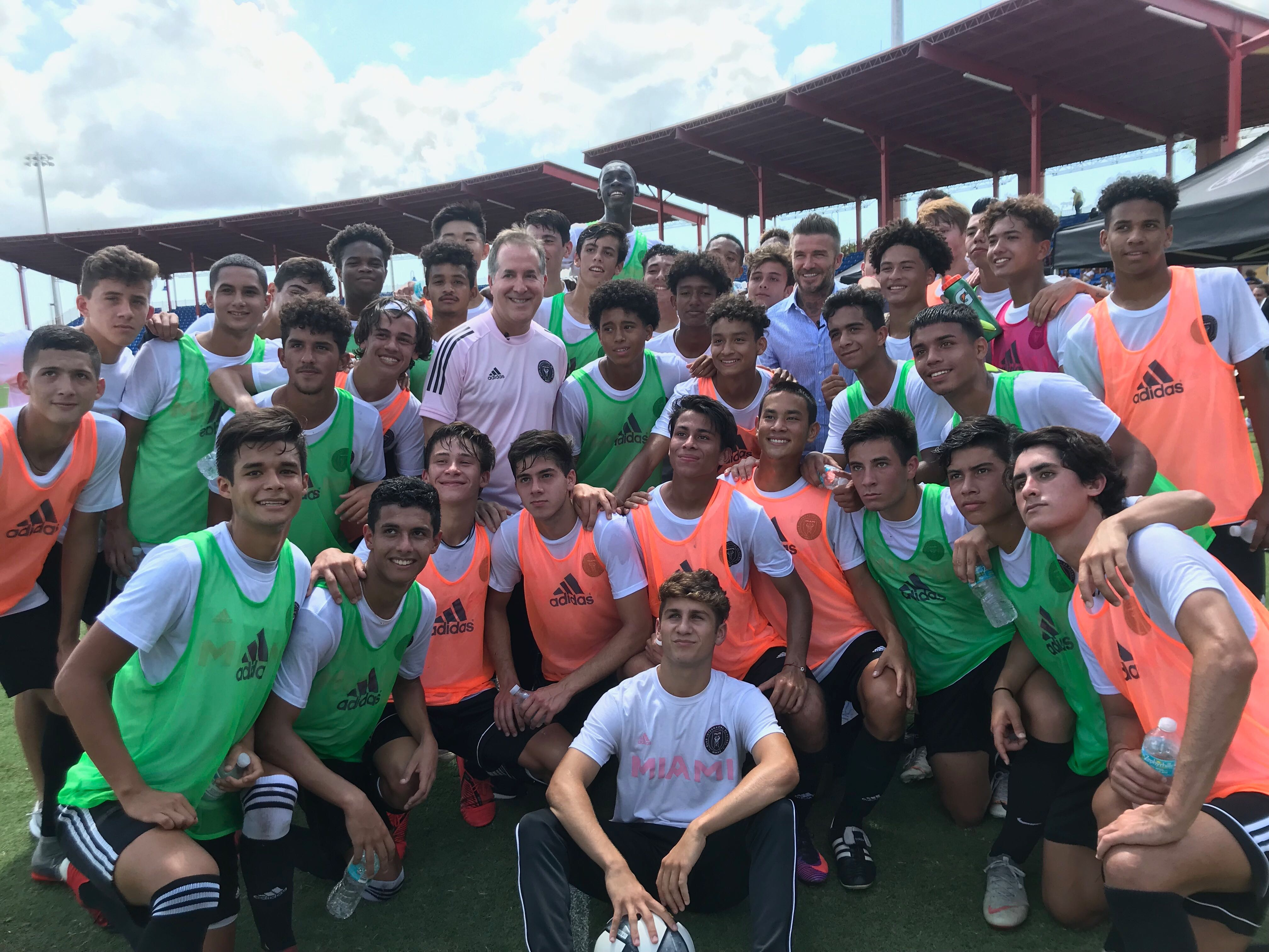 Inter Miami CF Secures First-ever Minutes with Inaugural Academy Class